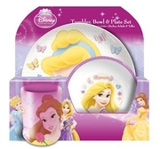 Disney Princess barnesett 3 deler