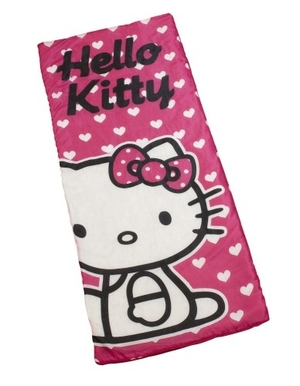 Hello Kitty sovepose
